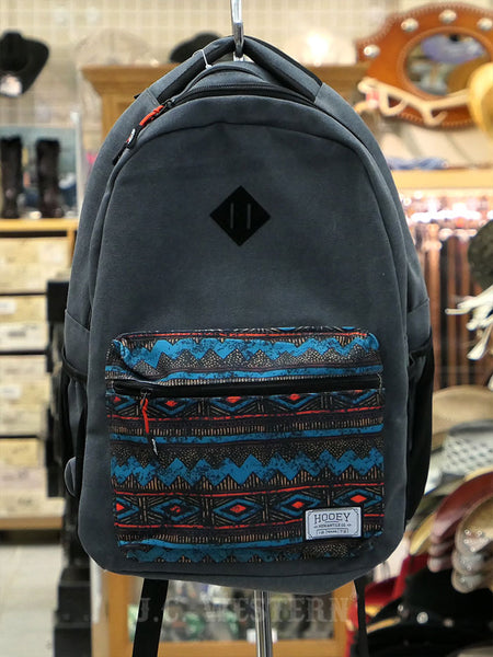 Hooey BP028CH Recess Maximum Performance Backpack Charcoal Grey Front