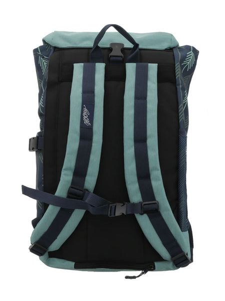 Hooey BP031NV Topper II Blue Hat Strap Performance Backpack Blue Back