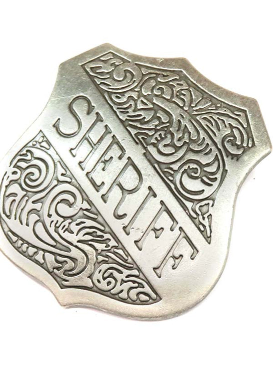 Sheriff Shield Western Replica Badge BW-31