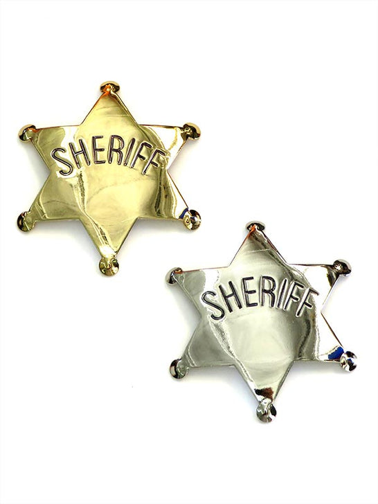 Sheriff Gold/Silver Western Replica Badge P572