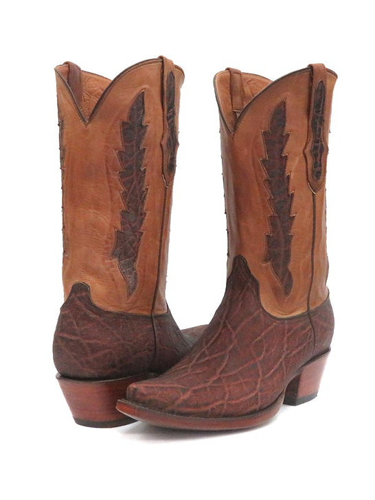 Black Jack Mens Elephant Vintage Chestnut Western Boot 1391-01 Pair