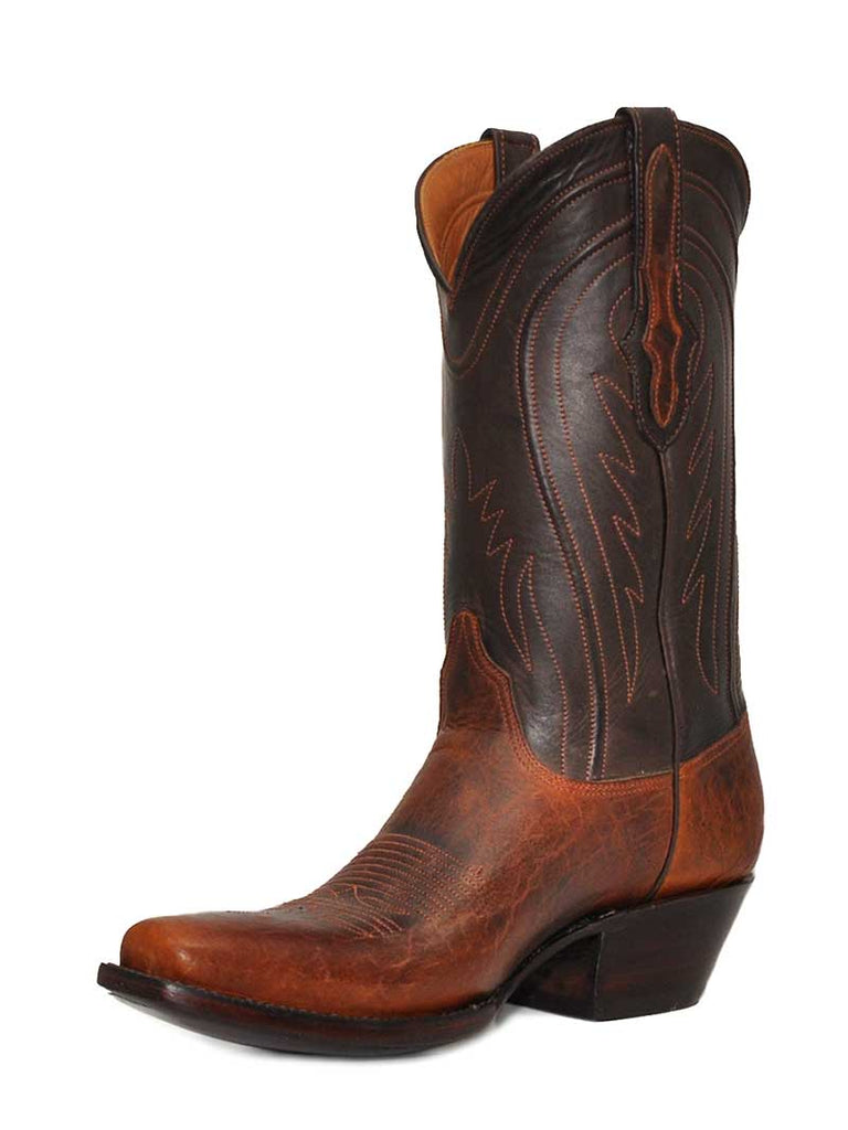 Black Jack Mens Buffalo Shoulder Tan Western Boots TN489-V4 Black Jack Boots - J.C. Western® Wear