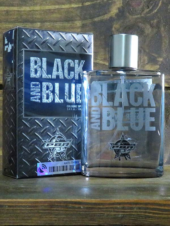 Authentic PBR Black and Blue Cologne Spray for Men 92235