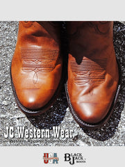 Men's Black Jack Burnished Peanut Ranch Hand Western Boots 405-64 Black Jack Boots - J.C. Western® Wear