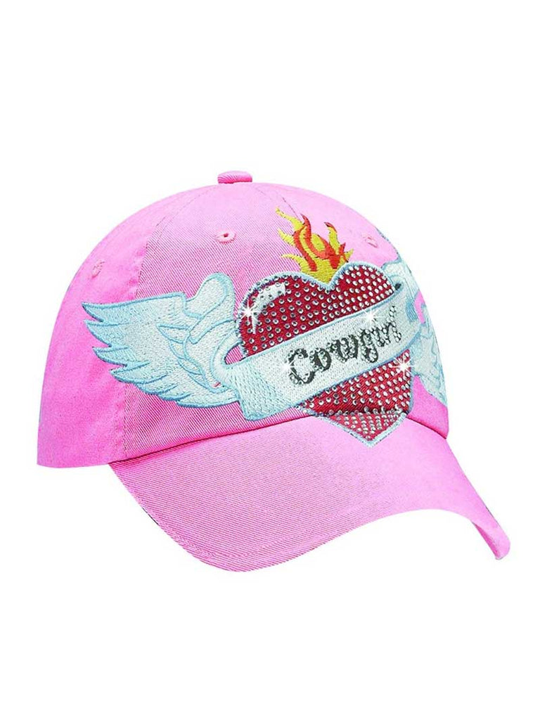 M&F Blazin Roxx Ladies Heart Tattoo Cap 1540630