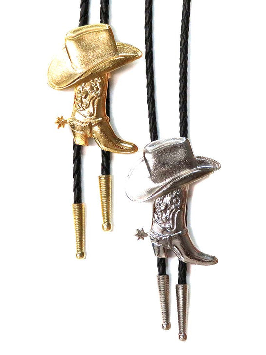 Western Boot and Hat Made in USA Classic Bolo Tie BT-972