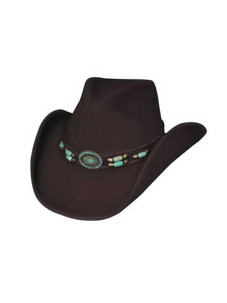 "Bullhide Sassy Cowgirl Collection ""Jewel of the West"" Felt Hat 0504CH Bullhide - J.C. Western® Wear"