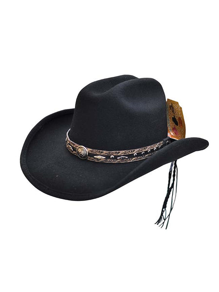 Bullhide Lil' Cowgirl Collection Black Granger Felt Hat 0757BL Bullhide - J.C. Western® Wear