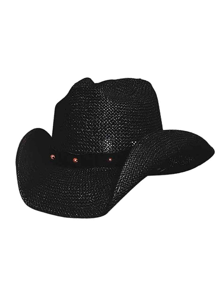 "Bullhide ""After Party"" Black Straw Cowgirl Hats 0221BL"
