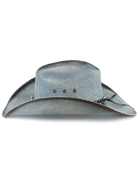 Bullhide Into You Womens Blue Straw Hat 2920 Bullhide - J.C. Western® Wear