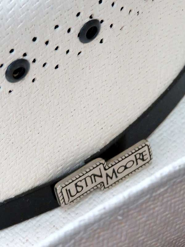 7430a9ccf6a56 ... Justin Moore by Bullhide JM Limited Edition 50X Straw Hat 2732 ...