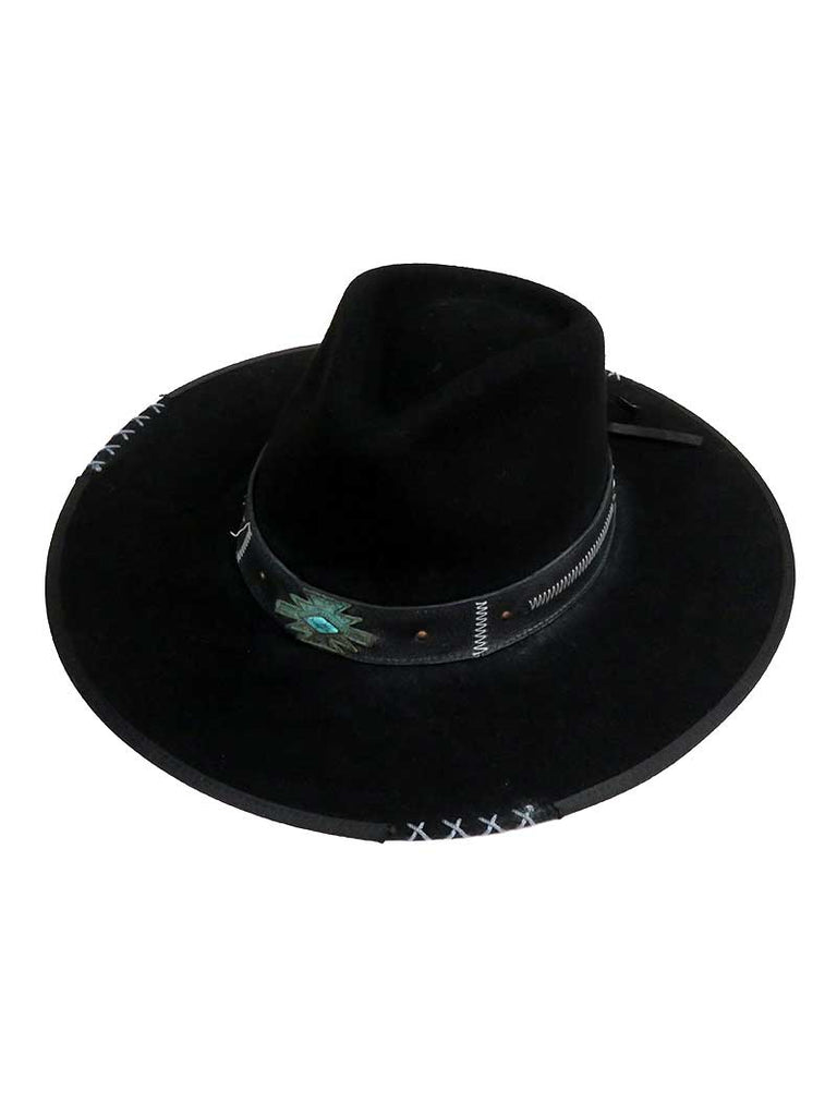 Bullhide Mens Messed Up Wool Cowboy Hat 0769BL