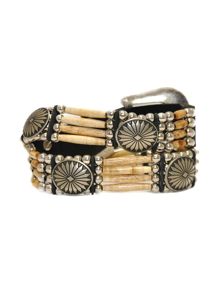 Cactus Mountain 4 Strand Beaded Tea Bone Belts CMTEA Cactus Mountain - J.C. Western® Wear
