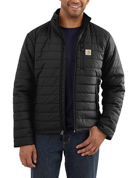 Carhartt Mens Rain Defender Gilliam Jacket 102208 Black with Person