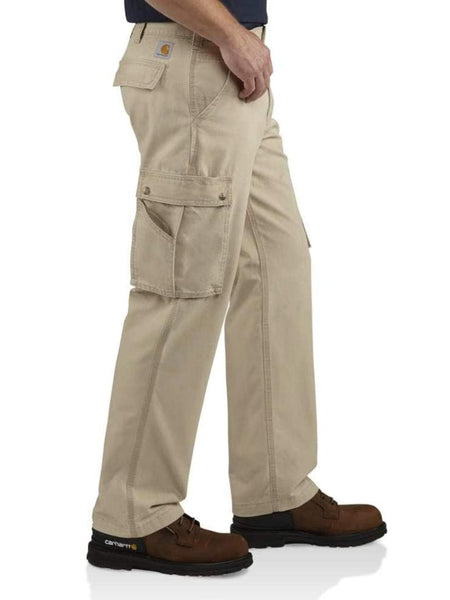 Carhartt Mens Relaxed Fit Rugged Cargo Pants 100272-232 Tan (D)