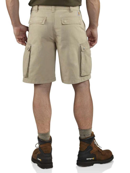 "Carhartt Mens 11"" Relaxed Fit Rugged Cargo Shorts 100277 back"