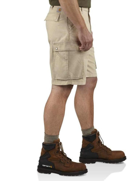 "Carhartt Mens 11"" Relaxed Fit Rugged Cargo Shorts 100277  side"