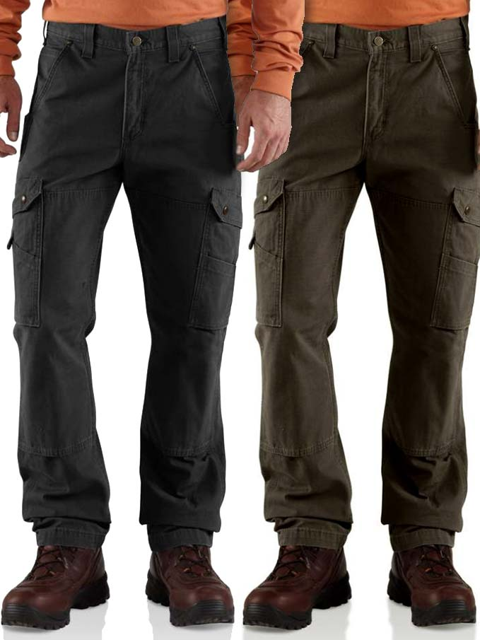 cute 100% top quality separation shoes Carhartt Mens Cotton Ripstop Relaxed Fit Work Pant Men ...