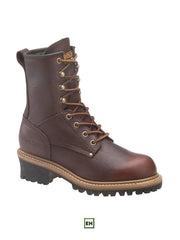"Women's 8"" Carolina Logger Steel Toe Work Boot - CA1421 - B"