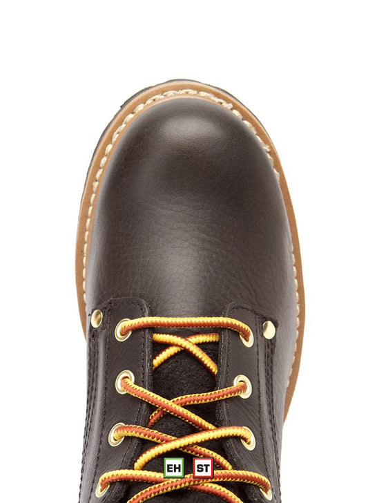 "Men's 8"" Carolina Steel Toe Logger-CA1825 Carolina - J.C. Western® Wear"