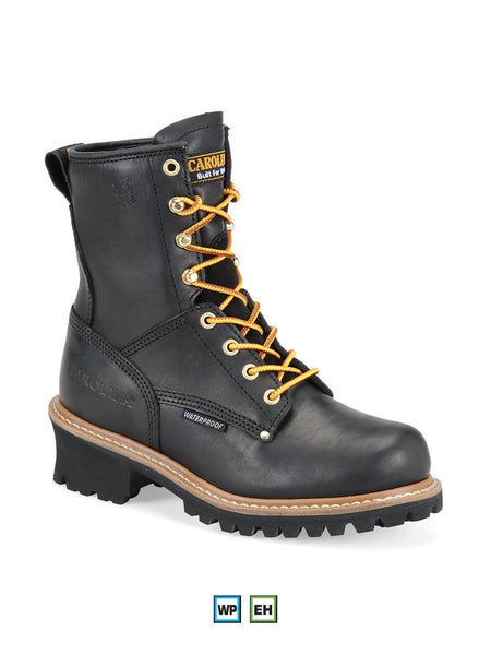 "Carolina CA420 Womens 8"" Waterproof Logger Work Boot - B"