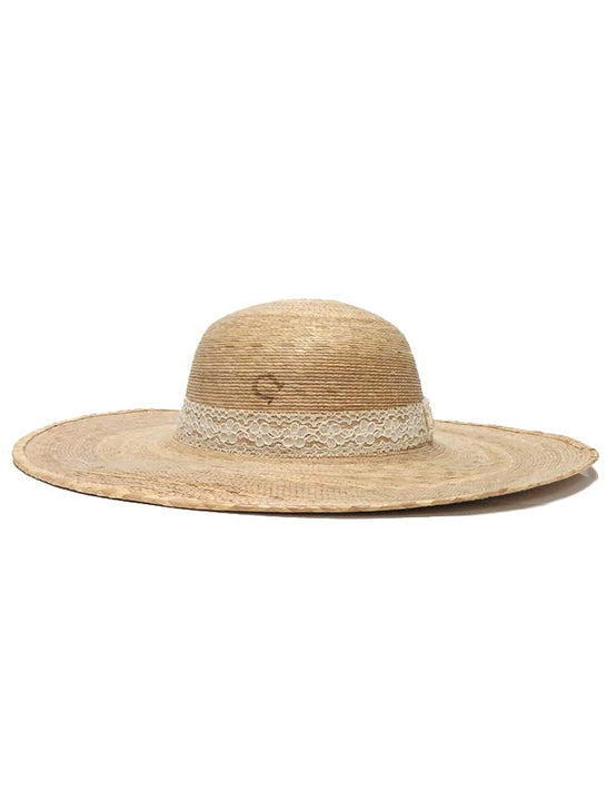 "Charlie 1 Horse ""Lacie"" Straw Hat CSLACE-0044 Side View"