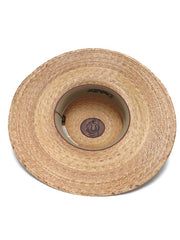 "Charlie 1 Horse ""Lacie"" Straw Hat CSLACE-0044 Bottom View"