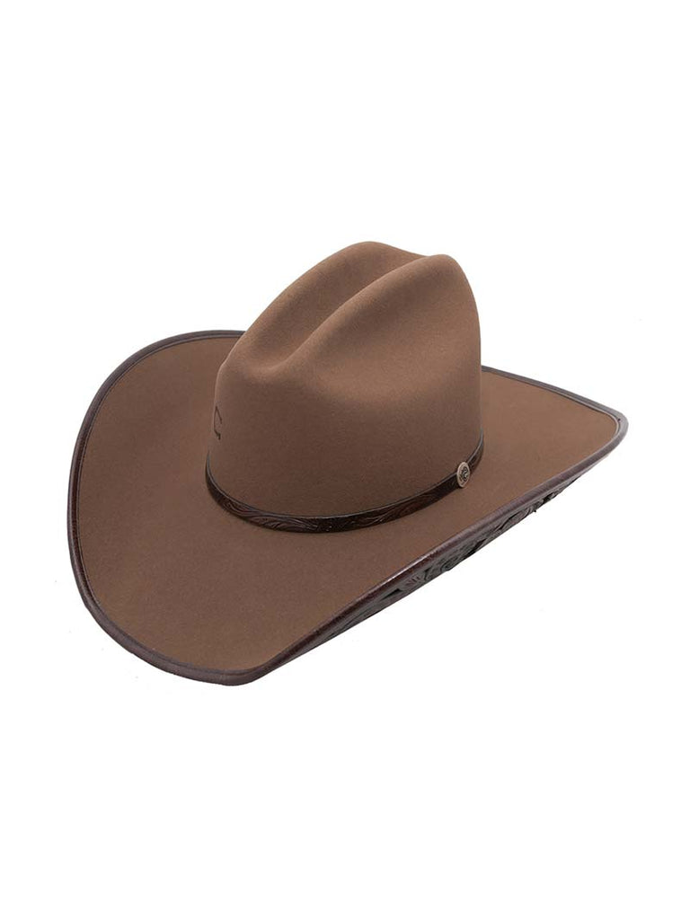 "Charlie 1 Horse Back At The Ranch ""Cut Above"" Felt Hat CWCABV-2540 Pecan Charlie 1 Horse - J.C. Western® Wear"