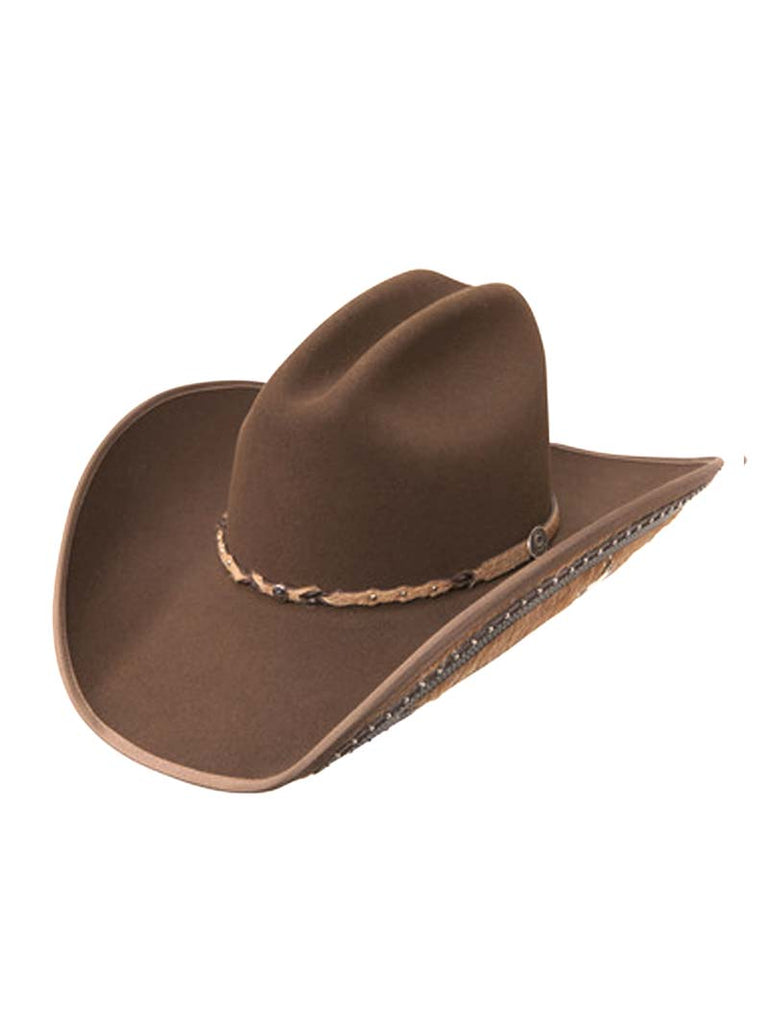 "Charlie 1 Horse Back At The Ranch ""Rising Star"" Felt Hat CWRSTR-25402 Mink Charlie 1 Horse - J.C. Western® Wear"