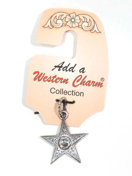 Star with Crystal Western Charm 29125 front