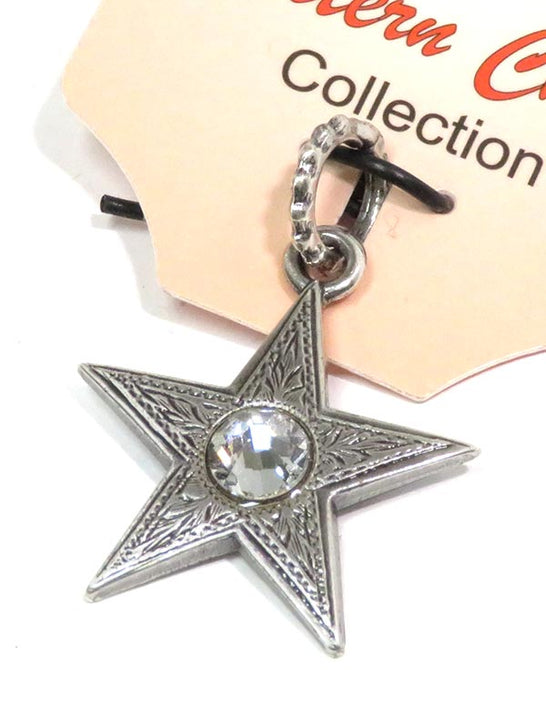 Star with Crystal Western Charm 29125 close up