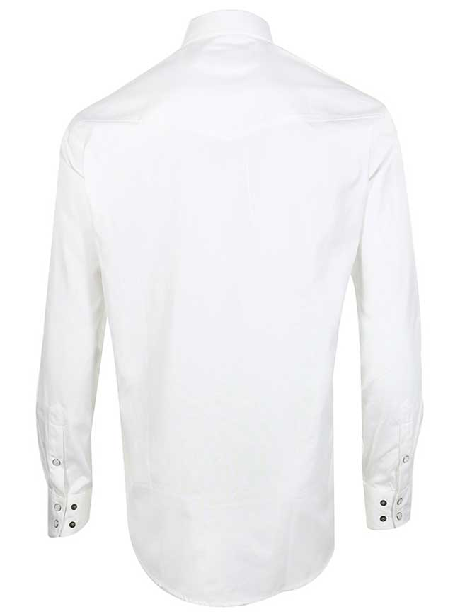 8bfcb0d1 Miller Ranch Long Sleeve Solid White Snap Shirt DTW2201034 – J.C. ...