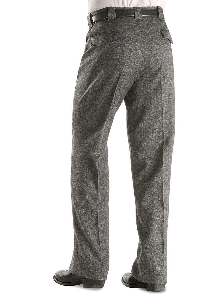 Circle S Mens Heather Charcoal Western Dress Ranch Pants CP4776
