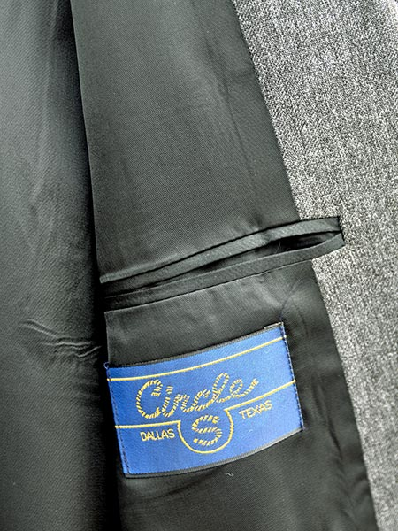 Circle S Mens Sport Coat Boise Arrow Western Jacket CC2976 Charcoal