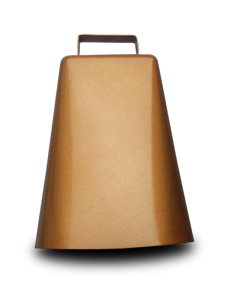 Bronze Finish 7 In Cowbell with Handle J.C. Western® Wear - J.C. Western® Wear