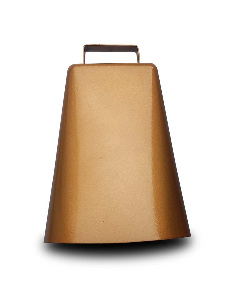 Bronze Finish 6 In Cowbell with Handle J.C. Western® Wear - J.C. Western® Wear