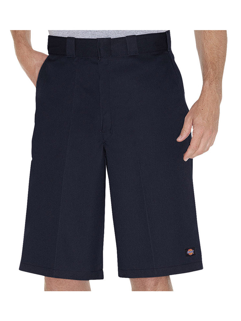 "Men's 13"" Dickies Loose Fit Dark Navy Work Shorts 42283DN Dickies - J.C. Western® Wear"