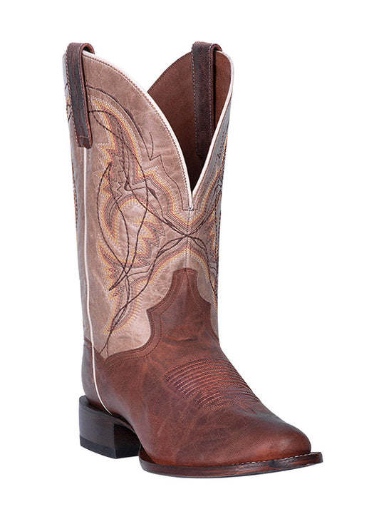 Dan Post DP4567 Mens Round Toe Western Cowboy Boots Copper Brown Front
