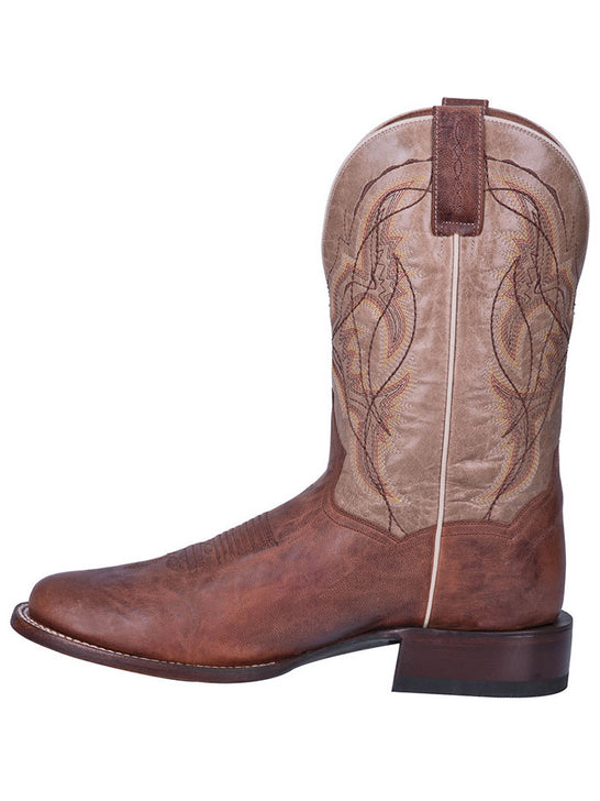 Dan Post DP4567 Mens Round Toe Western Cowboy Boots Copper Brown Side