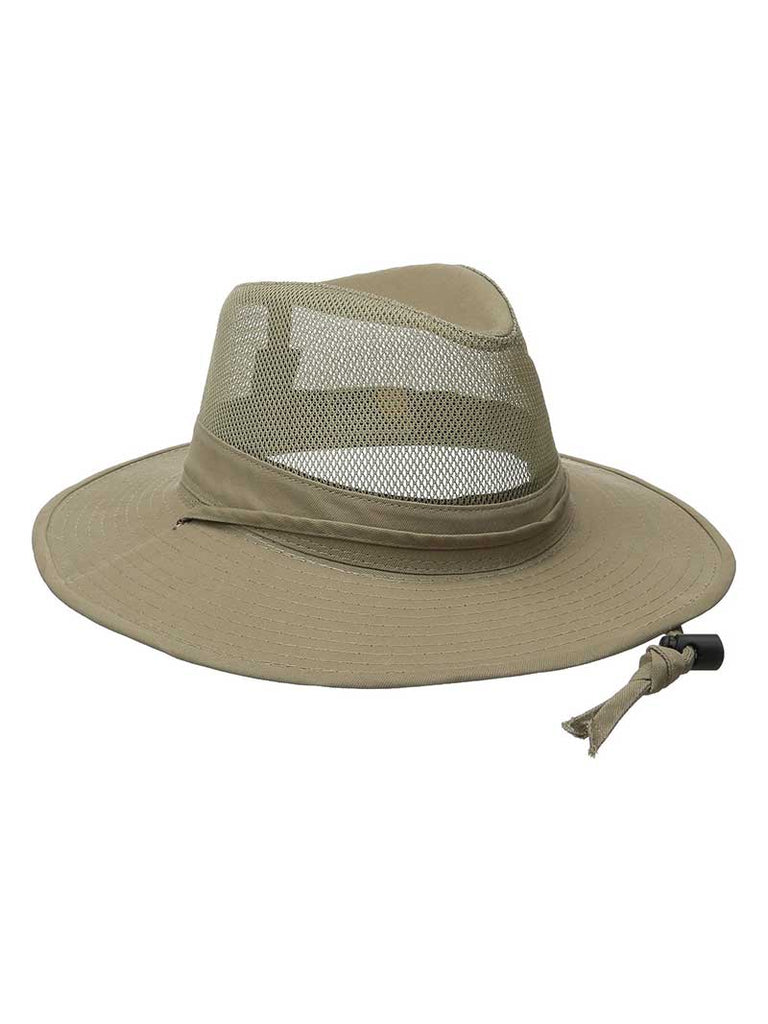 Dorfman Pacific Outdoors Solarweave Treated Cotton Hats SPF4-CAML