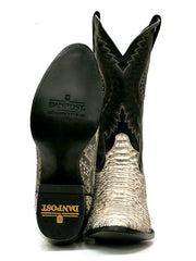 Dan Post DPP3036 Mens Omaha Python Western Cowboy Boot Natural Sole