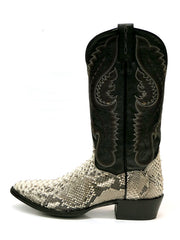 Dan Post DPP3036 Mens Omaha Python Western Cowboy Boot Natural side