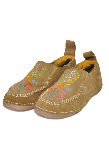 Cinch Womens Embroidered Slip On Shoes CCW3021 TAN