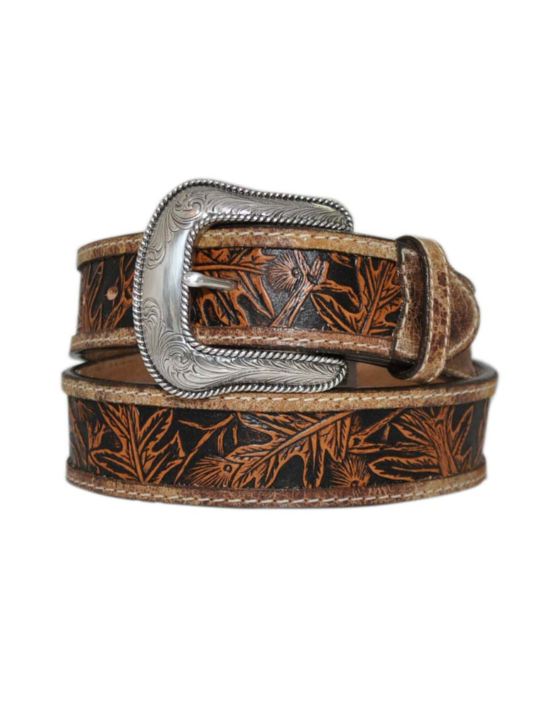 Justin Huntsman Top Grain Leather Belt C13685 Made in USA