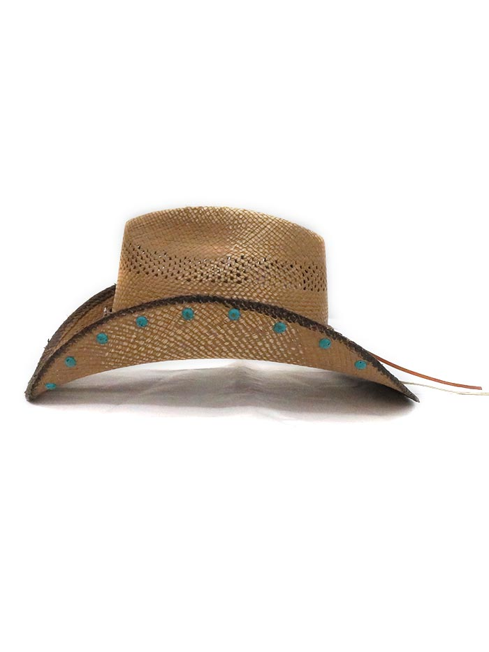 Dallas Hats Womens Kasey Straw Hat Front