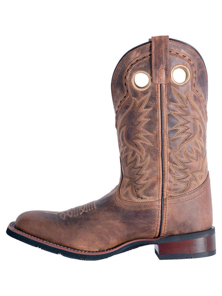 Laredo 7812 Mens Kane Leather Boots Distressed Tan