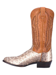 Dan Post DP3017 Mens Venom Rattle Snake Boots Natural Side View