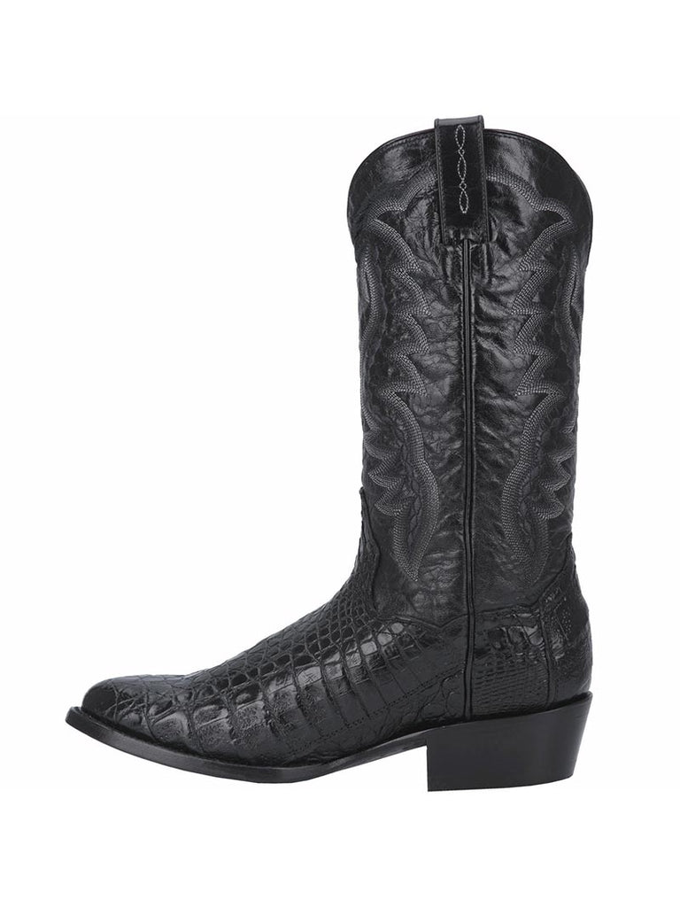 Dan Post DP2385 Mens Birmingham Caiman Skin Western Boot Black