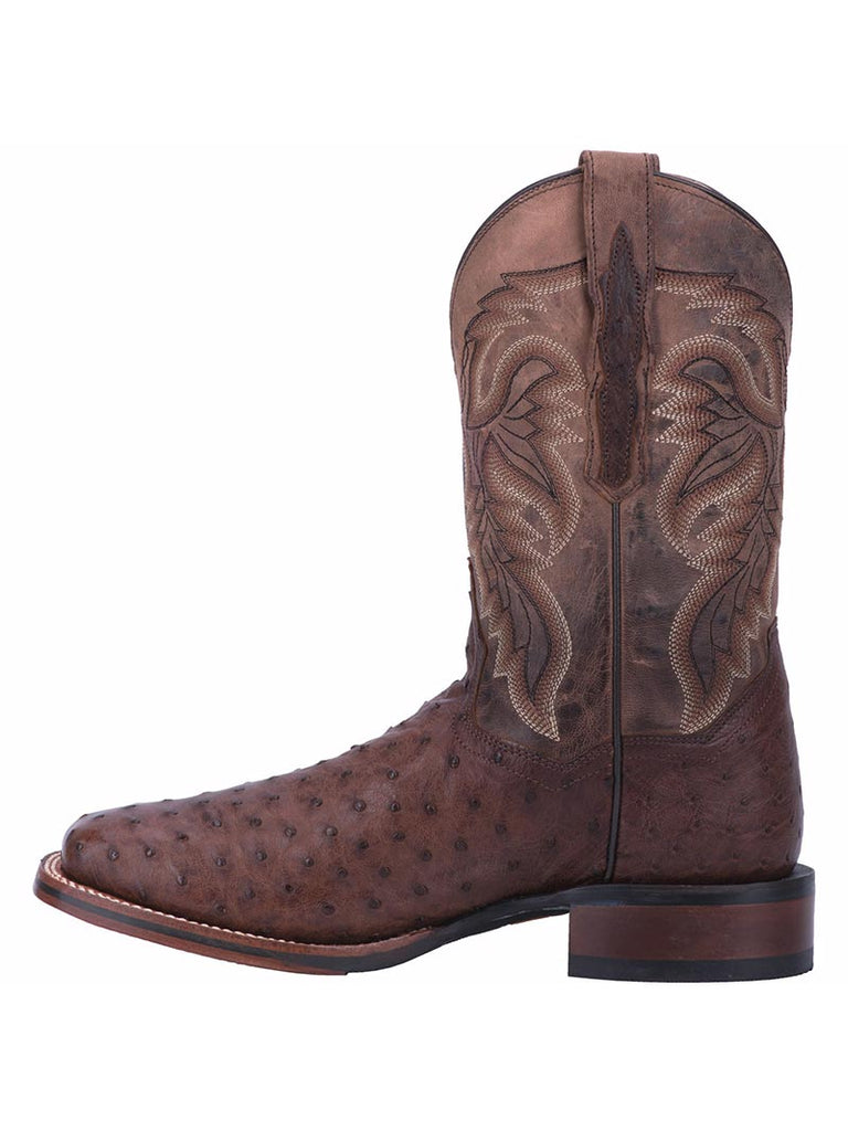 Dan Post DP3875 Mens Alamosa Square Toe Cowboy Boots Dark Brown