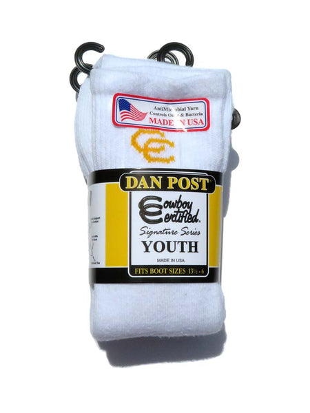 Dan Post Youth Over The Calf Cowboy Socks DPY3